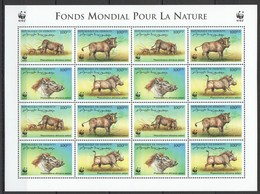 O1046 DE DJIBOUTI WWF FAUNA ANIMALS PHACOCHOERUS 1SH MNH - W.W.F.