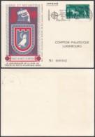 Luxembourg 1954 - Carte Spéciale Pour Otan Avec Nº443 (BE) DC3750 - Luxembourg