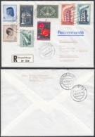 Luxembourg 1976 -Lettre Recommandé Avec Nº5125/6 + 512/3 Pour Allemagne (BE) DC3763 - Luxembourg