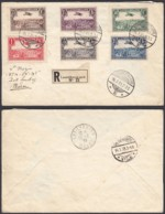 Luxembourg 1939 - Prifix PA 1/6 Sur Lettre Pour Maroc - RARE  (BE) DC 3776 - Luxembourg