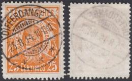 """Luxembourg 1895 - Prifix Nº 8 Dentelé 11x11 1/2 Obl. Centrale """" DIFFERDANGE """"  (BE) DC 3777 - Autres"""