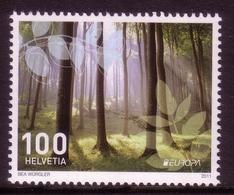 SCHWEIZ MI-NR. 2198 ** EUROPA 2011 - DER WALD - 2011