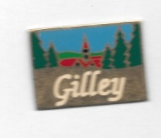 Pin's  Ville  GILLEY - Villes
