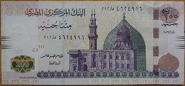 Egypt 2019 - 200 Pounds UNC Tarek Amer Dated 8/4/2019  (Egypte) (Egitto) (Ägypten) (Egipto) (Egypten) - Egypte