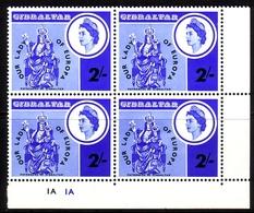 GIBRALTAR MI-NR. 184 ** 4er BLOCK UNSERE LIEBE FRAU VON EUROPA - Gibraltar