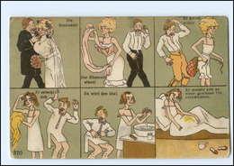 Y12443/ Humor  Bilder-Geschichte  Litho AK 1911 - Humor