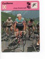 CYCLISME   TOUR DE FRANCE AUTOGRAPHE  JOOP ZOETEMELK - Wielrennen