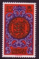GUERNSEY MI-NR. 222 ** SIEGEL Mit LANDESWAPPEN 1981 - Guernsey