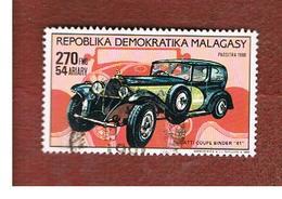 MADAGASCAR -  SG 726  -   1989  CARS: BUGATTI COUPE BINDER 41   -  USED° - Madagascar (1960-...)