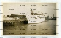 Shetland SS St Sunniva North Boat Ferry At Railway Pier - Perhaps On A Cruise? - Shetland