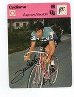 CYCLISME   TOUR DE FRANCE AUTOGRAPHE  RAYMOND POULIDOR - Wielrennen