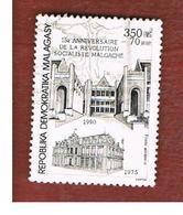 MADAGASCAR -  SG 810  -   1990  MALAGASY  REVOLUTION ANNIVERSARY    -  USED° - Madagascar (1960-...)