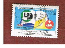 MADAGASCAR -  SG 835  -   1990   INT. LITERACY YEAR    -  USED° - Madagascar (1960-...)