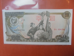COREE(NORD) 50 WON 1978 PEU CIRCULER/NEUF - Korea (Nord-)