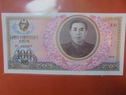 COREE(NORD) 100 WON 1978 PEU CIRCULER/NEUF - Korea (Nord-)