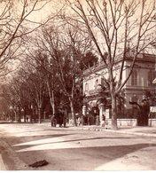 AK-1657/ Nizza Boulevard Victor Hugo Frankreich Stereofoto V Alois Beer ~ 1900 - Stereo-Photographie