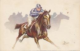 CPA - Illustrateurs - Signés - Cavalier - Jockey - Other Illustrators
