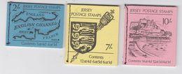 Jersey 1969 3 Stitched Booklets 1/3 ** Mnh (44267) - Jersey