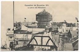CPA PK  EXPOSITION DE BRUXELLES 1910  LA PLAINE DES ATTRACTIONS - Belgique