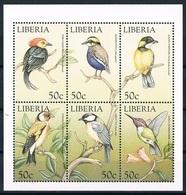 Bloc Sheet Oiseaux Birds Neuf MNH ** Liberia 1999 - Autres
