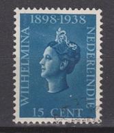 Nederlands Indie 237 Used ; Koningin, Queen, Reine, Reina Wilhelmina 1938 Netherlands Indies PER PIECE - Nederlands-Indië