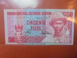 GUINEE-BISSAU 50 PESOS 1990 PEU CIRCULER/NEUF - Guinea-Bissau