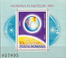 Romania MNH Set And SS - Astronomy