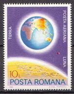 Romania MNH Stamp From SS - Astronomy