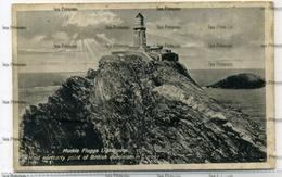 Shetland Lerwick Muckle Flugga Lighthouse Postcard - Unusual Close Up View  By Newman Glasgow - Shetland