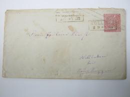 HAVELBERG, Klarer Stempel Auf   Brief - Preussen