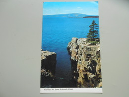 ETATS UNIS ME MAINE CADILLAC MOUNTAIN AND FRENCHMAN'S BAY FROM SCHOODIC POINT ACADIA NATIONAL PARK - Etats-Unis