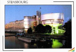 Strasbourg -  Palais Des Droits De L'homme - Barges - Strasbourg