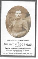 Coopman J.l.(  Gesneuveld -waregem  1894 - Passendale  1918) - Religion & Esotérisme