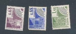 FRANCE - PREOBLITERES N°YT 162/64 NEUFS (*) SANS GOMME - COTE YT : 2€ - 1979 - Préoblitérés