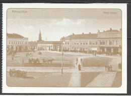 Hungary, Nyiregyhaza, Main Square, Around 1910, Reprint. - Hongrie