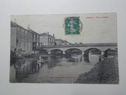 Carte Postale  - NOMENY (54) - Pont Et Seille (3204) - Nomeny