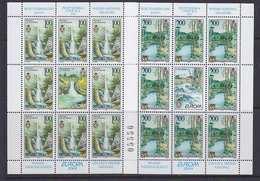 Europa Cept 2001 Bosnia/Herzegovina Serbia 2v Sheetlets ** Mnh (44270) - 2001