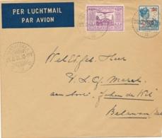 Nederlands Indië - 1931 - Binnenlandse LP-cover Van LB RANTJAEKEK Naar Schip In Belawan - Nederlands-Indië