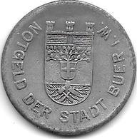 *notgeld Buer 50 Pfennig 1919 Zn  2186.4 / F64.4 - Autres