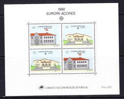 Europa Cept 1990 Azores M/s ** Mnh (44273) - Europa-CEPT