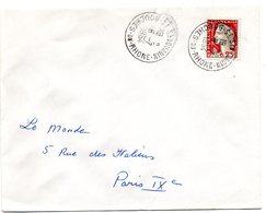 BOUCHES Du RHONE - Dépt N° 13 = St SAVOURNIN 1964 = CACHET MANUEL A8 - Postmark Collection (Covers)