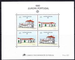 Europa Cept 1990 Portugal M/s ** Mnh (44274) - Europa-CEPT