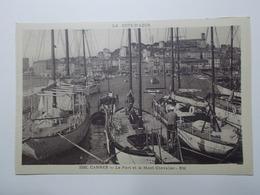 Carte Postale  - CANNES (06) - Le Port Et Le Mont Chevalier - Bâteaux (3211) - Cannes