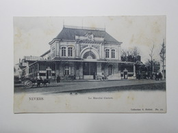 Carte Postale  - NEVERS (58) - Le Marche Carnot (3212) - Nevers