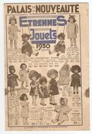 CATALOGUE 20 PAGES 1930 - JOUETS POUPEE BAIGNEUR MECCANO SOLDAT De PLOMB JEUX De SOCIETE DINETTE CHEVAL à BASCULE VELO - Autres Collections