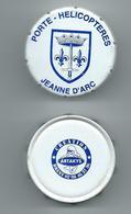 17192 - BOITE A CACHOU (Boite Clic-Clac) COOPERATIVE DU PORTE-HELICOPTERES JEANNE D'ARC (Boite Vide) - Scatole