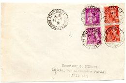 BOUCHES Du RHONE - Dépt N° 13 = ST VICTORET 1938 ? 9 = CACHET RECETTE-DISTRIBUTION B4 - Postmark Collection (Covers)