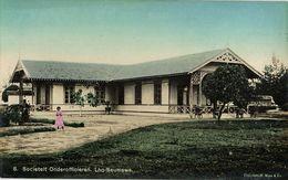 Indonesia, SUMATRA, LHO-SEUMAWE, Aceh Atjeh, Petty Officers Club KNIL (1910s) - Indonésie