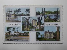 Carte Postale  - Souvenir De MONTENDRE (17) - Multi Vues CPSM (3215) - Montendre