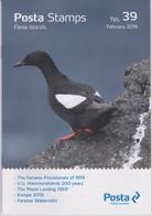 Faroe Islands - Îles Féroé - Faeröer Brochure Nr. 39 2019 - Moon Landing - Europa - Watermills - V.U. Hammershaimb - Faeroër